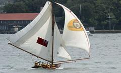 Boating (iansand) Tags: bradleyshead sailboat yacht sail sailing sydney sydneyharbour sydneyharbor skiff
