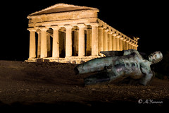 Ikarus and Concordia Temple (Ali Yamaner) Tags: ikarus concordia temple italy sicily sicilia agrigento