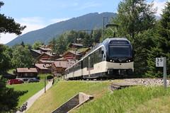 2018-07-12, MOB, Rougemont (Fototak) Tags: schmalspurbahn treno train railway goldenpass paysdenhaut switzerland mob stadler alpina 9202