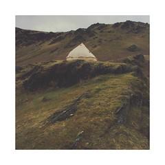 Mountain Home (Piers Muiry) Tags: kodak portra 400 35mm 135 film nikon f100 wales landscape mountains tent stove wood burning grass hills hillside rocks valley winter autumn camping