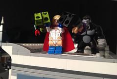 Gotham Under Attack (bricksfreaks) Tags: gotham dc dccomics lego comics custom customminifigures customlego customfigures superheroes supervillains minifigs minifigures bricksfreaks bricks teentitans justiceleague legionofdoom powergirl metallo manchesterblack gorillagrodd