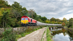 Following the Fowey (Mark Gowing) Tags: 66165 dbschenker chinaclaytrain coulsonpark lostwithiel class66