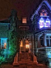 Haunted school (marc.barrot) Tags: night school uk nw3 london hampstead arkwrightroad devonshirehouseschool