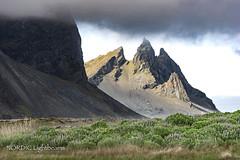 Mount Doom - where the ring was destroyed ... (NORDIC Lightbeams) Tags: island ed40150mmf28 berg stokksnes vestrahorn gebirge iceland olympuszuiko mft microfourthirds mountain rock austurland is