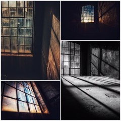 Windowscollage (hobbit68) Tags: windows fenster collage fujifilm xt2 industry industriegebiet industrie sonne sunset sunshine