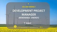 Invest RH recrute un Project Manager (Renewable Energy) (dreamjobma) Tags: 102018 a la une chef de projet ingénieurs invest rh emploi et recrutement rabat responsable