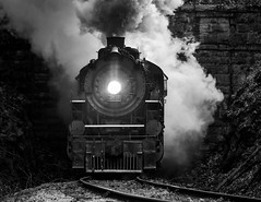 Exit (Jordan Hood) Tags: tennesseevalleyrailroadmuseum tvrm chattanooga tennessee train museum passenger tourist antique steam locomotive rail southernrailway 4501
