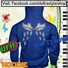 I Can Fly Hoodie (El Ultra Style) Tags: music musician musica musicvideo songs angels birds bird pets pet angel flyfishing fly flying wings love voice melody harmony beauty sounds back sing singing ibelieve ibelieveicanfly rkelly magic blackgirlmagic birdwatching