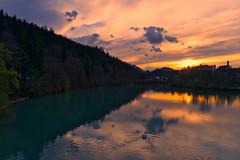 Bavarian light (Jim Nix / Nomadic Pursuits) Tags: bavaria europe fussen germany jimnix lightroom luminar macphun nomadicpursuits sony sonya7ii lake mountains pond sunset swan travel