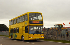 Red Rose HJ02HFF (SRB Photography Edinburgh) Tags: red rose showbus shuttle bus yellow buses donnington midlands