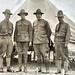 Arthur Woods, Archie Roosevelt. Capt. D. W. White and Theodore Roosevelt Jr. at Plattsburg Training Camp, NY 1917 NARA165-WW-412B-018