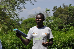 Raphael Odwaro, Lead farmer in Homa Bay County, Kenya