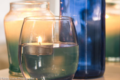 27 Blue (Kirsty Lucas Photography) Tags: calm relaxing candle macro glass soft light reflection