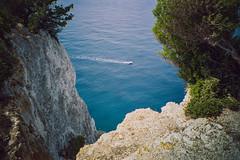 (Just A Stray Cat) Tags: kodak proimage pro image 100 lefkada greece beach ionian sea summer travel holiday 35mm 35 mm film analog analogue mju ii olympus stylus epic