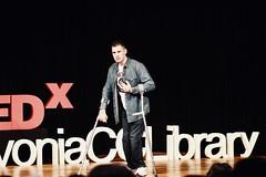 Jesse Sparkman (TEDxLivoniaCCLibrary) Tags: tedxlivoniacclibrary tedx livonia shaunroberts 2018