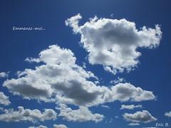 Charles AZNAVOUR (Éric…Mon chemin ⊰♥) Tags: ciel cielo sky paysage landscape country countryside nuage nuagesblancs whitecloud clouds nature canon canonixius photography travel light avril april spring printemps charlesaznavour hommage blue bleu 2016 extérieur outdoor groupenuagesetciel