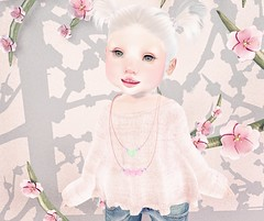 L.O.T.D. 10.05.18 (Emery/Teagan Parker) Tags: maple mainstore necklace lotd lookoftheday toddleedoo td alice bento pink cute adorable sl secondlife handmade enfersombre baby bebe astralia cherryblossom