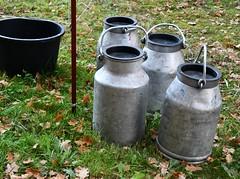 (:Linda:) Tags: germany thuringia village bürden milkchurn four