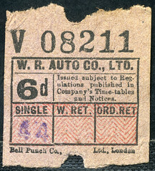 ticket - west riding 6d ultimate (johnmightycat1) Tags: bus ticket yorkshire westriding ultimate