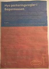 Information om införande av parkeringsavgifter i Bagarmossen