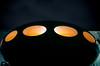 Licht in der Dunkelheit (Nachett) Tags: futurohaus futurohouse mattisuuronen noche night nacht naranja orange