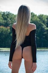 Kay (Spawl Photo) Tags: beach girl blonde summer bodysuit beachlife outdoors sexy beachbody