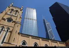 St. John's Cathedral, Cheung Kong Centre & Bank of China Tower, Hong Kong, China (JH_1982) Tags: st john's cathedral 聖約翰座堂 anglican church kathedrale 聖ヨハネ座堂 cathédrale saintjohn церковь сентджонс cheung kong centre center 長江集團中心 bank china tower boc 中銀大廈 skyscrapers wolkenkratzer champion highrises highrise buildings hochhäuser central admiralty cbd contrasts contrast architecture architektur religion religious christian christianity hong hongkong 香港 홍콩 гонконг hk hkg sar peoples republic prc chine cina 中国 中國 中华人民共和国 중화인민공화국 китайская народная республика three garden road 花園道三號