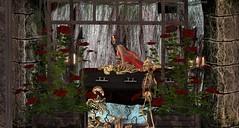 Avec les miens pour cette toussaint (ℰżιℓι) Tags: psychobarbie pulse salt conviction cx leluck appearance avatar bento catwa diadelmuertos fashion gothic halloween maitreya messiahxshi roses secondlife skeleton skull stealthic swallow apparel