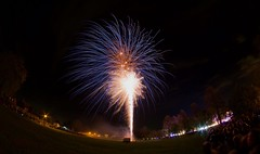 Redbourn fireworks (rwbthatisme) Tags: redbourn fireworks community village life hertfordshire night winter fisheye