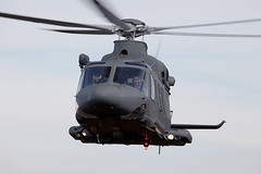 Blackhawks beaten out by Italian-designed copter for Air Force UH-1 replacement (UnaWhite) Tags: uncategorized aw139 military qeaf 31279 31280 inflight volo