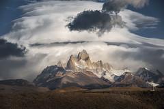 Fitz Roy - #Patagonia- #Argentina (higordepadua) Tags: higordepadua argentina landscape patagonia sunrise adventure elchalten fitzroy mountfitzroy outdoors trekking santacruz ar