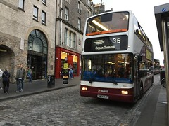 663 (Callum's Buses and Stuff) Tags: plaxton president lothian buses lothianbuses bus dennis lothianedinburghedinburgh edinburgh edinburghbus madderandwhite madderwhite dennins trident transbus