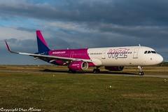 Wizz Air HA-LXM (U. Heinze) Tags: aircraft airlines airways airplane planespotting plane haj hannoverlangenhagenairporthaj eddv flugzeug nikon