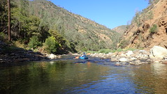 Shallow water on the Upper Tuolumne River