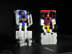 Autobot Battle HQ (Klinikle) Tags: transformers micromaster autobot patrol robot overflow fullbarrel headquarters battle truck hasbro
