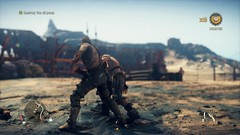 Mad Max_20180925000444 (Livid Lazan) Tags: mad max videogame playstation 4 ps4 pro warner brothers war boys dystopia australia desert wasteland sand dune rock valley hills violence motor car automobile death race brawl scenery wallpaper drive sky cloud action adventure divine outback gasoline guzzoline