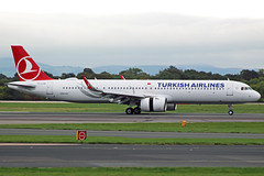 Turkish Airlines Airbus A321Neo TC-LSA (Sam Pedley) Tags: tclsa airbus a321 turkishairlines neo a321n a21n egcc manchesterairport man tk1993 tk thy runwayvisitorpark rvp staralliance vehicle aircraft airplane airliner jet jetliner civilaviation passengeraircraft