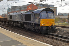 66304 6K11 (Rob390029) Tags: drs direct rail services class 66 66304 newcastle central station ncl