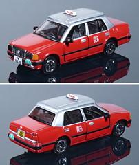 TNY-Toyota-HK-Taxi (adrianz toyz) Tags: diecast toy model adrianztoyz hongkong taxi toyota crown comfort tiny