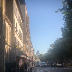 Morning in Montmartre I (marc.barrot) Tags: batignolles paris 75017 france sacrécoeur am pale street urban landscape church