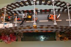 Ninjago Bridge (Livin'TheBrickLife) Tags: ninjago lego legomoc zane ultimateultimateweapon bridge lloyd legominifig
