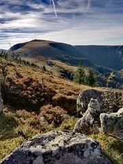 Vosges mountains (denismartin) Tags: denismartin vosges vosgesmountain france alsace hohneck routedescretes mountains cloud sky nature hiking gr5
