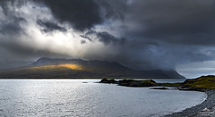 Where there is light (lawrencecornell25) Tags: landscape scenery outdoors stormy cloudy iceland easterniceland djupivogur nature coast nikond850