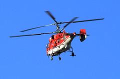 Double or quits (crusader752) Tags: heliswissinternational kamov ka32a12 hbxke shorehamairport helicopter