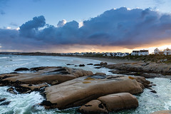 Dawn Over Paternoster (thisbrokenwheel) Tags: atlanticocean clouds beach fishing storm travel nature dawn westerncape surf southafrica paternoster village sunrise sea