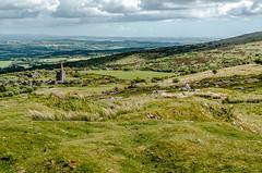 View across Bodmin Moor (C.G.Photos) Tags: cornwall england vacation bodminmoor mine rural