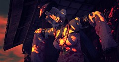 Dying Light (Chewy Gellar Edain) Tags: slphotography secondlife avatar shadows dark horror scary jiangshi zombie nani catwa maitreya asian