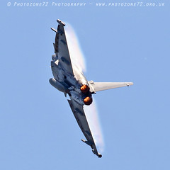 0153 Typhoon (photozone72) Tags: yeovilton yeoviltonairday airshows aircraft airshow aviation jets canon canon7dmk2 canon100400f4556lii 7dmk2 raf typhoon raftyphoondisplay eurofighter