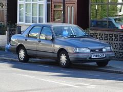 1991 Ford Sierra Sapphire 1.8 Classic (Neil's classics) Tags: vehicle car 1991 ford sierra sapphire 18