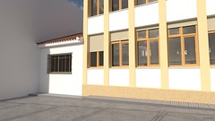 Colegio Vicente Espinel - Exterior 03 (jm00092) Tags: blender 3d ronda vicenteespinel